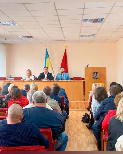 Робоча зустріч в Корсунь-Шевченкіському