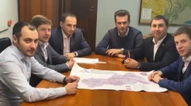Робоча зустріч з новим Головою Державного агентства автомобільних доріг України, Головою Черкаської ОДА та колегами народними-депутатами.