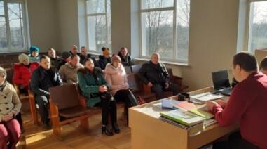 Прийом громадян в селі Валява, селі Водяне та зустріч iз виборцями в селі Бродецьке