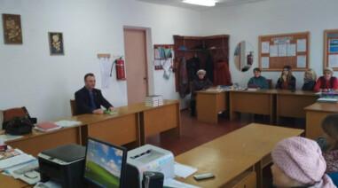 Зустріч iз виборцями в селі Вікнине
