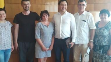 Робоча зустріч в Мліївської ОТГ