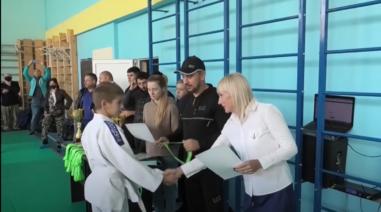 Андрій Стріхарський підтримав чемпіонат з дзюдо