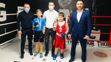 Андрій Стріхарський на турнірі з боксу