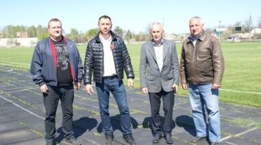 Стріхарський: реконструкція стадіону «Колос» сприятиме розвитку спортивних досягнень Черкаської області