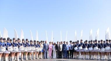 «Серце України»: Президент підняв прапор країни на Черкащині